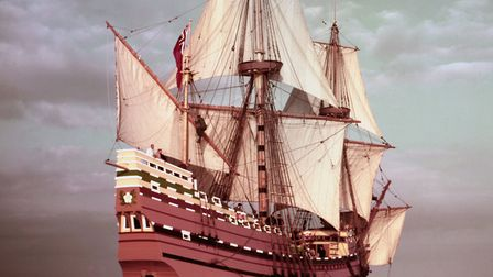 The Mayflower was registered in Harwich and captained by Christopher Jones, who set sail for the New