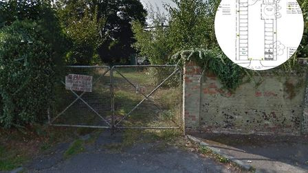 The 24 space car park will be on the former gas works site in Lavenham. Picture: GOOGLE MAPS/LAVENHA