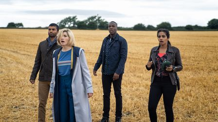 Doctor Who returns early in the New Year with a darker, more atmospheric look l to r: Mitch (NIKESH