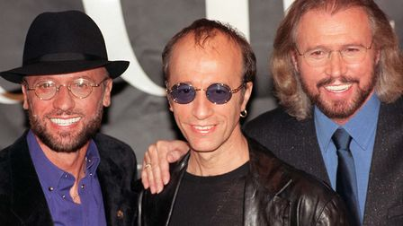 The Bee Gees, from left, Maurice, Robin and Barry Gibb. There is a 'Stayin' Alive' parkrun challenge