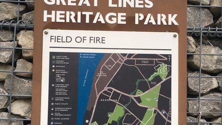 Great Lines Heritage Park, the home of the weekly Great Lines parkrun, Medway. Picture: CARL MARSTON