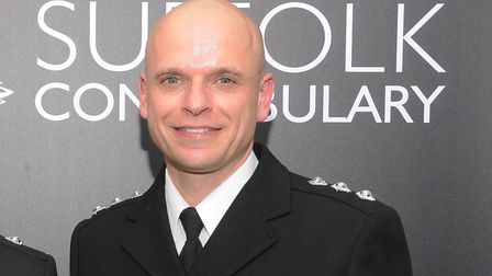 Superintendent Matthew Rose, head of specialist operations for Norfolk and Suffolk police Picture: