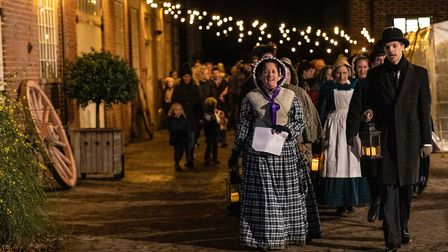 Kentwell Hall's Dickensian Christmas captures the flavour of the Victorian's favourite time of year