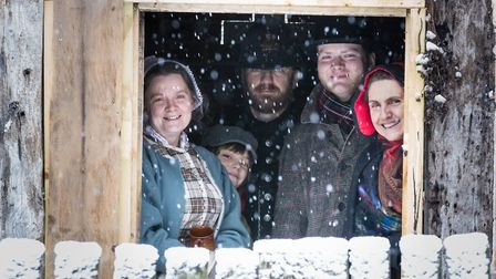 Meet the villagers and discover how 'the other half' lived at Kentwell Hall's Dickensian Christmas e