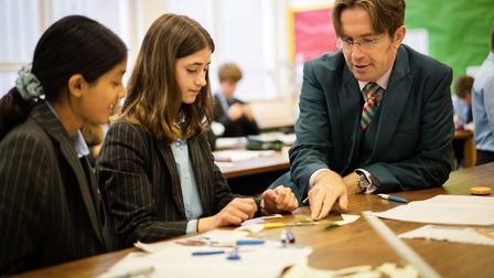 Ipswich School headmaster Nicholas Weaver was pleased to have his school ranked as one of the best i