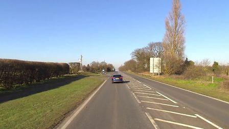 A stretch of the A12 near Bredfield was closed by police following a single vehicle crash Picture: G
