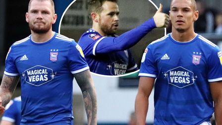 James Norwood, Kayden Jackson and Alan Judge have the potential to be a key trio for Ipswich Town th