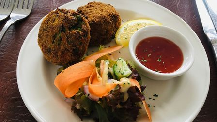 Spiced fish cakes Picture: Charlotte Smith-Jarvis