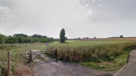 The caravan park is earmarked for land to the west of Badley Hill in Badley, near Needham Market Pic