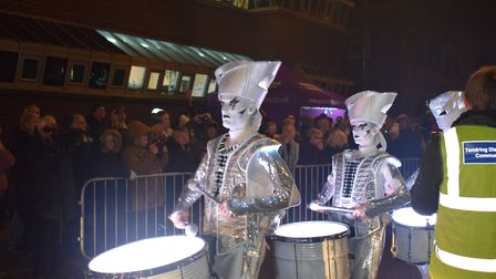 The annual Illuminate festival was used to launch a year of festivities called Mayflower 400, recogn