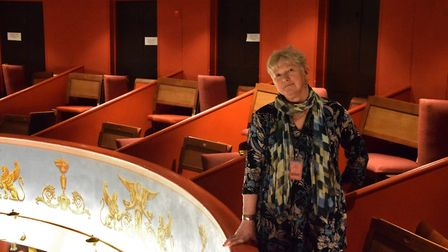 Karen Simpson, CEO and artistic director of Theatre Royal Bury St Edmunds, who is stepping down afte