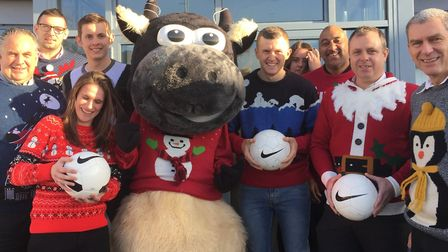 St Elizabeth Hospice are appealing for Suffolk businesses to join their Christmas jumper fundraising