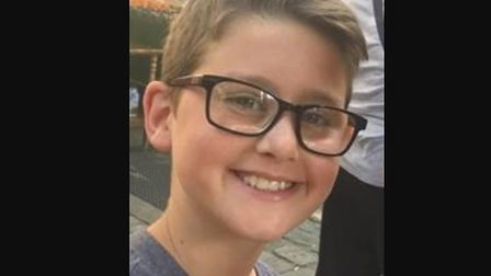 Harley, 12, died following a collision outside his school in Essex Picture: ESSEX POLICE