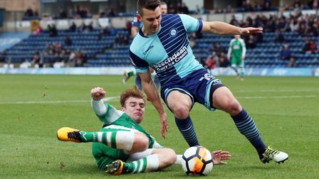 Former Ipswich Town youngster Matt Bloomfield has made more than 500 appearances for Wycombe. Photo: