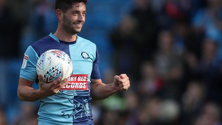 Wycombe left-back Joe Jacobson scored a hat-trick earlier this season - including two goals direct f