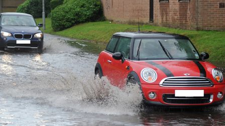 Flood alerts have been issued across Suffolk File picture Picture: SIMON PARKER