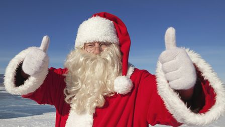 Santa Claus is a busy man and will be trying to meet as many people as possible in Suffolk this year