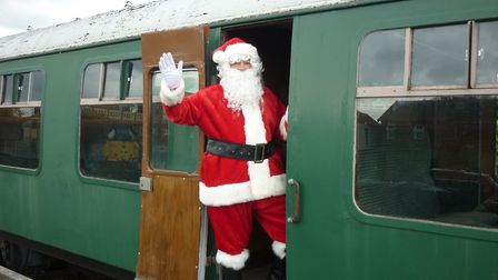 All aboard for the Santa Specials Photo: Archant