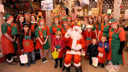 Christmas at Kersey Mill - Santa's elf workshops are going to be very popular Photo: Gregg Brown