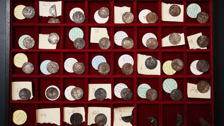 The coins are believed to date back to 999, during the reign of King Ethelred II Picture: JONATHAN