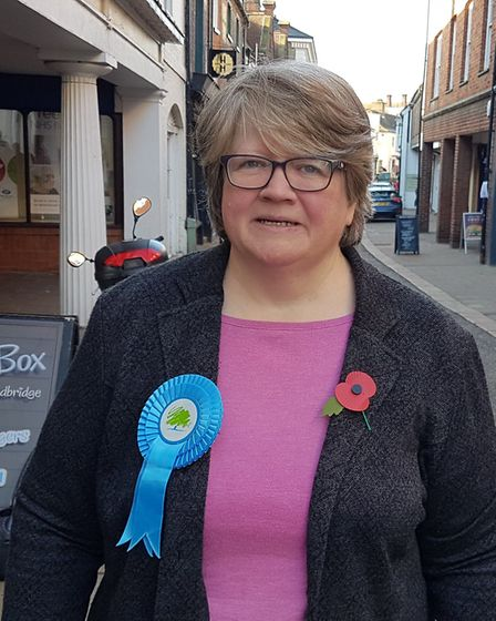 Therese Coffey . Picture: PAUL GEATER