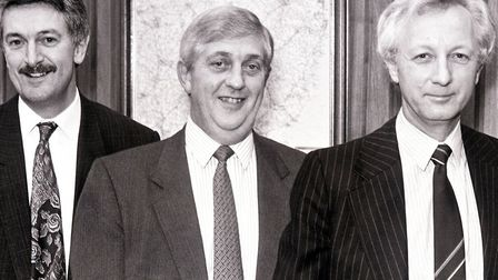 It must have been a very special occasion to have lured Alan, right, to the EADT's Ipswich boardroom