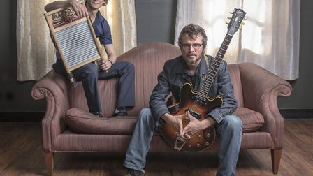 Cody & Luther Dickinson, the North Mississippi Allstars, who will be performing at the Red Rooster F