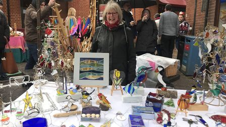 Visitors could buy all sorts of gifts for Christmas: Picture: Victoria Pertusa