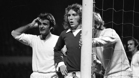 Kevin Beattie was made captain for a game at his hometown club of Carlisle in 1975. Photo: Archant
