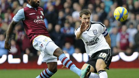 Tommy Smith, pictured up against Darren Bent, was named captain for an FA Cup match at Aston Villa i