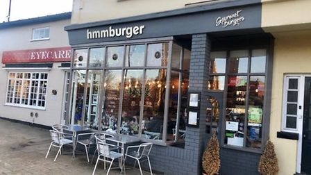 Hmm Burger in Newmarket High Street - is this the best burger in Suffolk? Quite possibly!