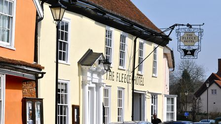 The Fleece in Boxford Picture: JAYNE LINDILL