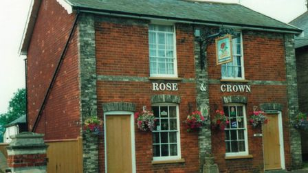 The Rose and Crown was one of the pubs Don visited on his walk around 28 lost pubs of Stowmarket. Pi