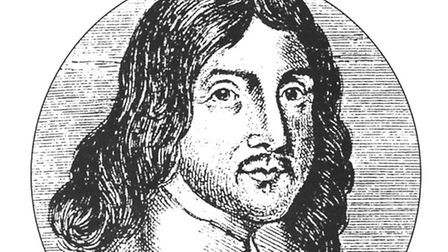 An engraving of William Winstanley from 1677 Picture: ARCHANT ARCHIVE