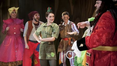 Chris Clarkson, Oliver Mawdsley, Lauren Chinery, Samuel Howe-Barrett and Alan Mehdizadeh in Peter Pa