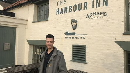 Thomas Heal, duty manager of the Harbour Inn at Southwold Picture: ARCHANT