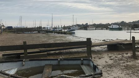 Southwold Harbour where it is understood the men disembarked the boat before being caught by the pol