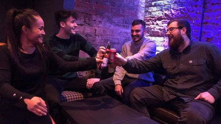 Under The Tables is a new karaoke lounge which has opened beneath Gastrono-me, in Abbeygate St, Bury