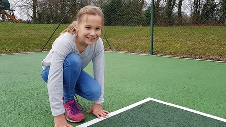 Amelie has raised thousands for the Suffolk charity EACH Picture: RACHEL EDGE