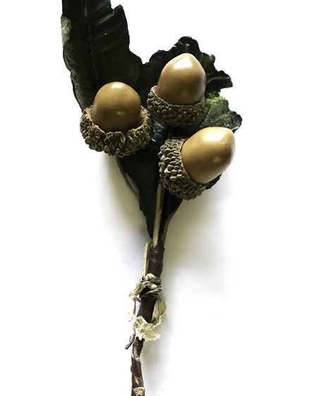 A replica of the acorns which is held by Aldeburgh Musem Picture: Aldeburgh Museum Charitable Trust