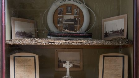 A memorial model held by the Aldeburgh Museum Picture: Aldeburgh Museum Charitable Trust