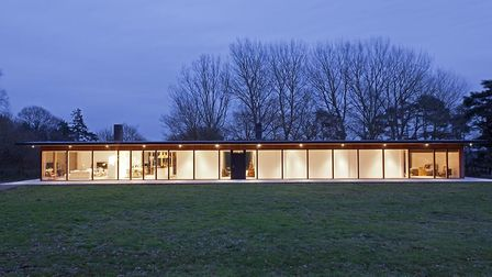 The beautiful home been designed by Norm Architects, based in Copenhagan Picture: FOTOFRANCH