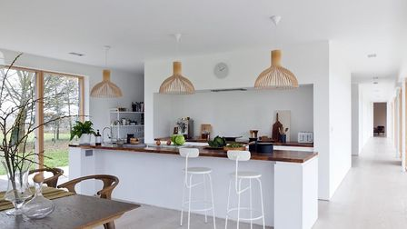Could you cook up a storm in this stylish kitchen? Picture: FOTOFRANCH