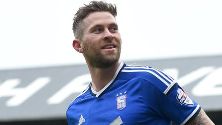 Daryl Murphy, pictured during his time as an Ipswich Town player. Picture: PAGEPIX