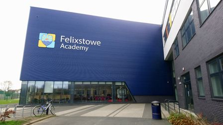 Ofsted have sent a letter to Felixstowe Academy after a recent monitoring inspection Picture: KATY S
