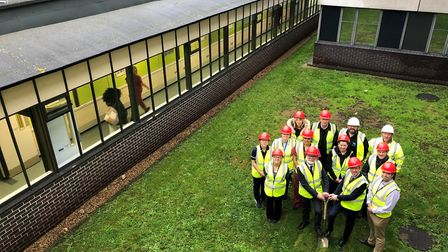 Work is starting on Colchester Hospital's new specialist centre for cardiac and radiology procedures