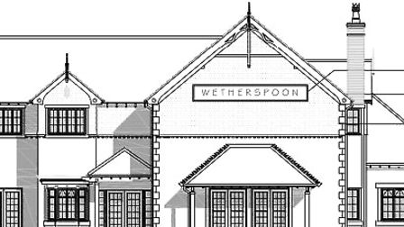 How the new Felixstowe Wetherspoon could look Picture: KDPA