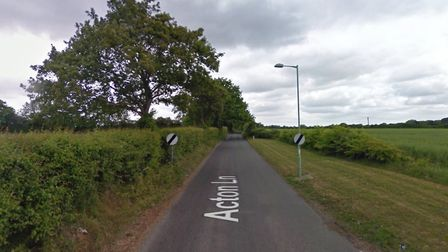 The cable was stolen from Acton Lane in Sudbury Picture: GOOGLE MAPS