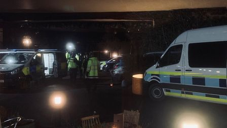Border Force and officers from Suffolk police arrested 16 people at the scene of an incident in Blyt
