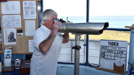Pakefield Coastwatch keeps watch on the waters off the Suffolk coast Picture: MICK HOWES